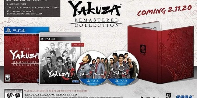 Yakuza Remastered Collection Day 1 Edition Now Available to