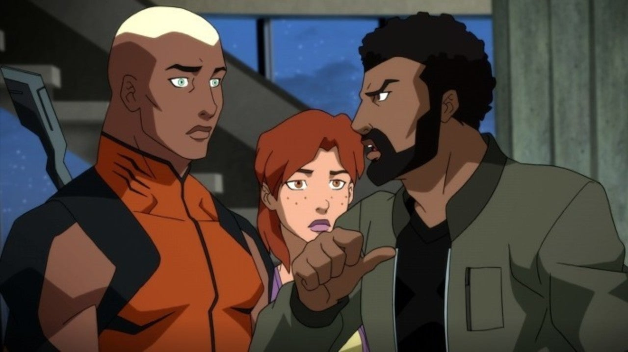 Young Justice: Outsiders Reveals the Team's Traitor and Batman's Plans, and Everything Falls Apart