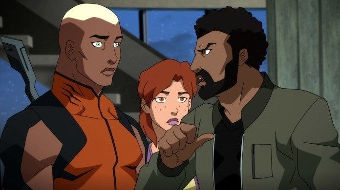 young justice outsiders black lightning aquaman