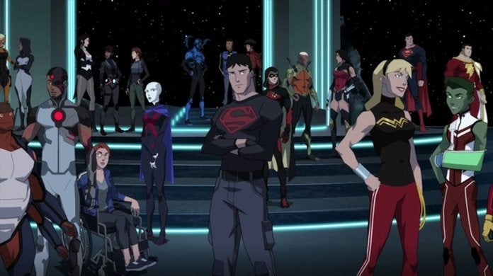 young justice outsiders season finale justice league