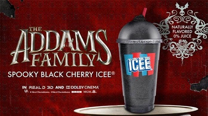 addam family black cherry icee