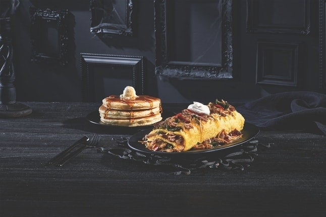 addams family omelettes