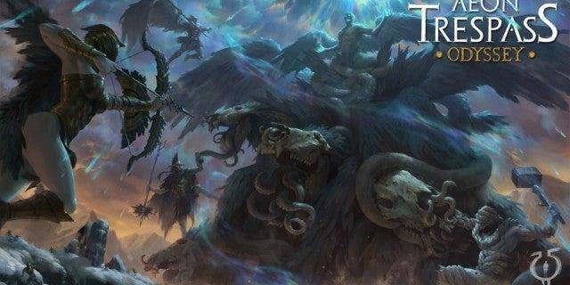 Aeon Trespass: Odyssey Board Game Blends Greek Mythology and Neon Genesis Evangelion