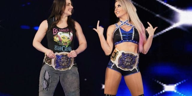 Alexa Bliss and Nikki Cross Trade To SmackDown Revealed During WWE Backstage