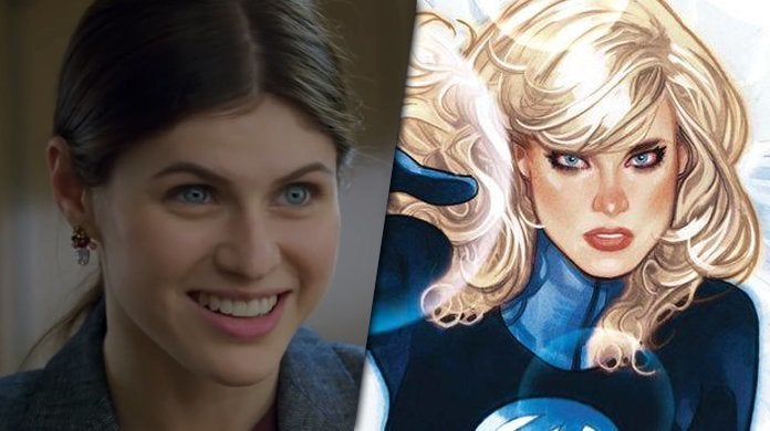 alexandra daddario superhero movie invisible woman