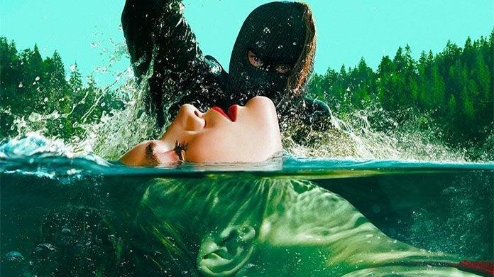american horror story 1984 swim poster
