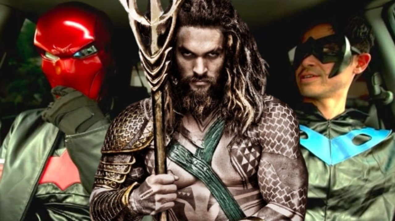 Red Hood and Nightwing Talk James Wan's Aquaman in New GEGGHEAD Video