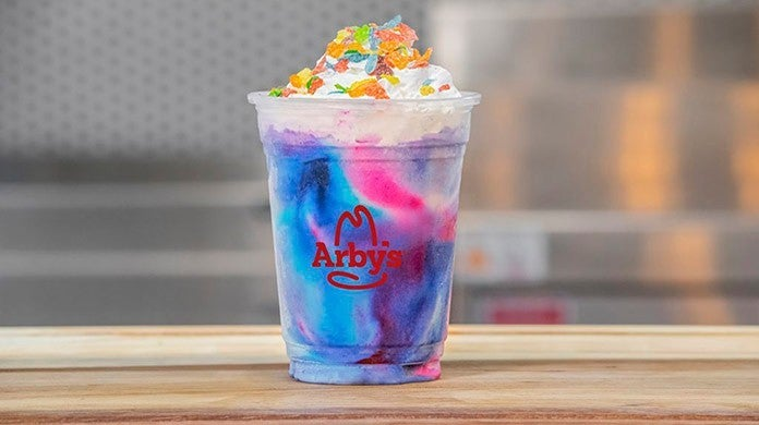 arbys area 51 galaxy shake
