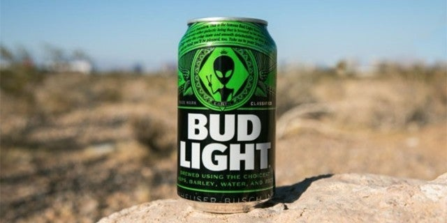 Bud Light Releases Area 51-Inspired Cans