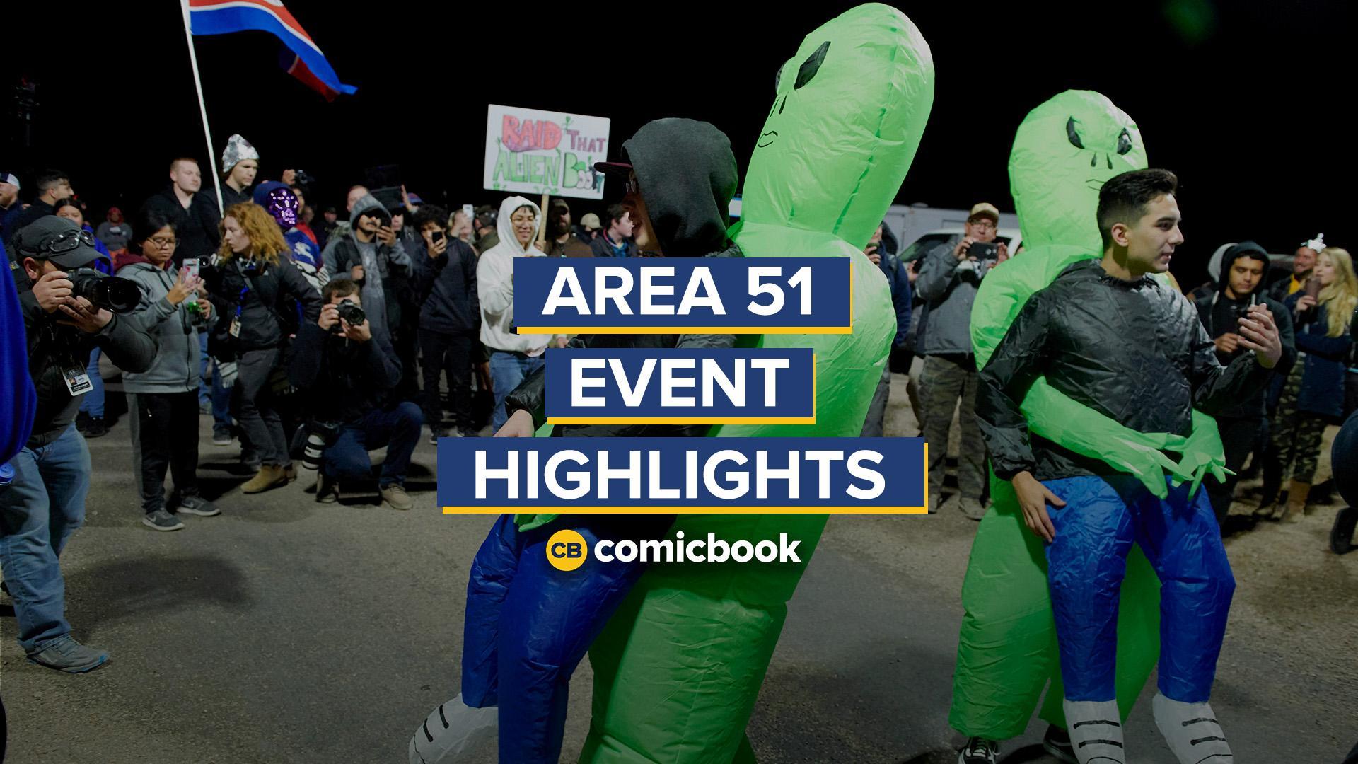 Area 51 Raid Highlights screen capture