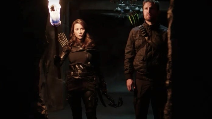 arrow final season trailer talia al ghul