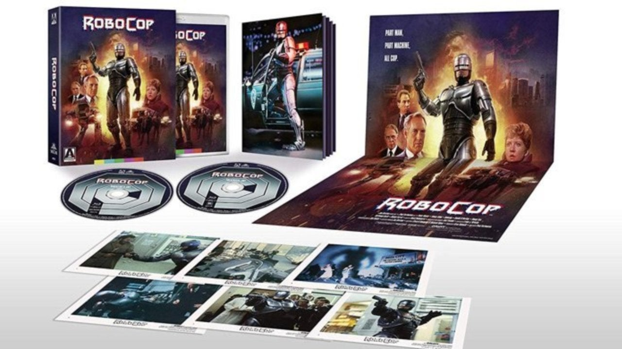 Save 29% on the RoboCop Limited Edition Blu-ray Collector's Set