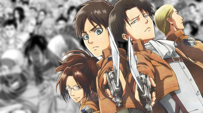Attack on Titan 10th Anniversary Visual