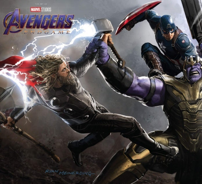 Avengers Endgame Art of the Movie book