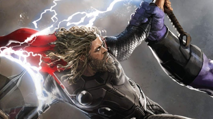 Avengers Endgame Art of the Movie book Thor