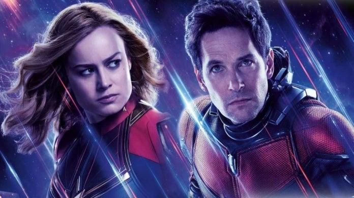 Avengers Endgame Brie Larson Paul Rudd Captain Marvel Ant-Man comicbookcom