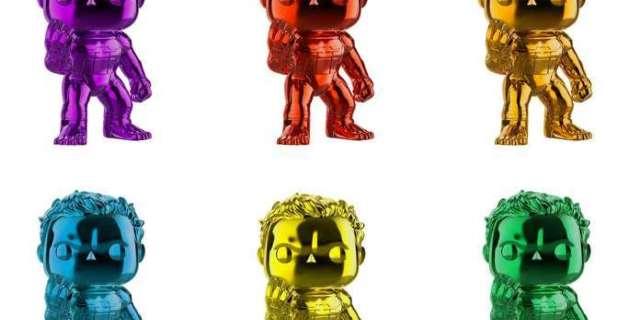 Funko's Avengers: Endgame Chrome Hulk Pop Figure Exclusives Are Finally in Stock