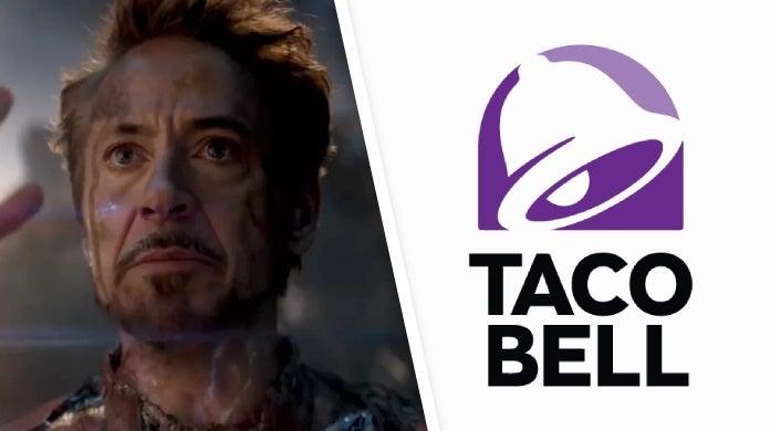 avengers endgame iron man taco bell