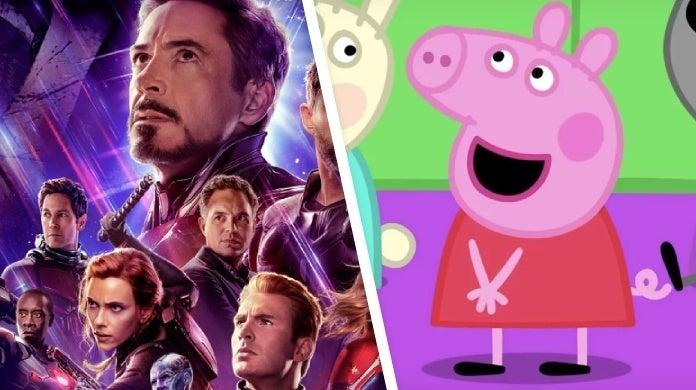 avengers endgame peppa pig