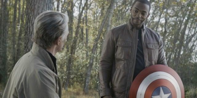 Avengers Endgame Steve Sam Evans Mackie