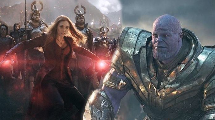 avengers endgame thanos scarlet witch
