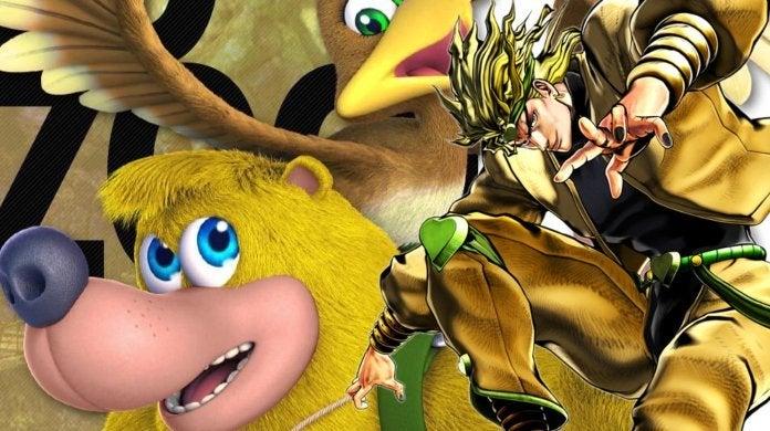 Banjo Kazooie Smash Bros JoJos Bizarre Adventure Dio