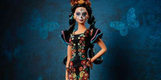 Mattel's 'Day of the Dead' Holiday Barbie Doll is Back in Stock
