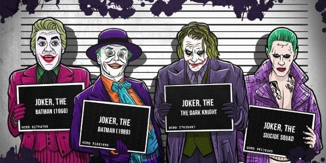 Batman Movies Joker Crimes Statistics Infographic
