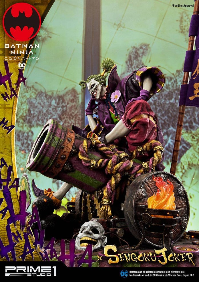 Batman-Ninja-Sengoku-Joker-Prime-1-Studio-Statue-7