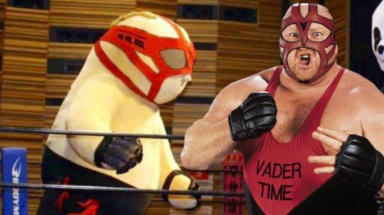 Vader's Family Loves Japanese Promotion DDT's Giant