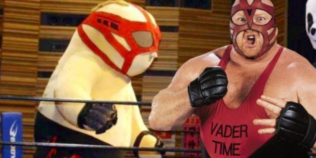Vader's Family Thanks Japanese Promotion DDT For Their Giant Inflatable Wrestler Big Man Vader
