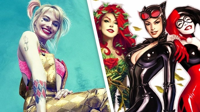 birds of prey posters gotham city sirens