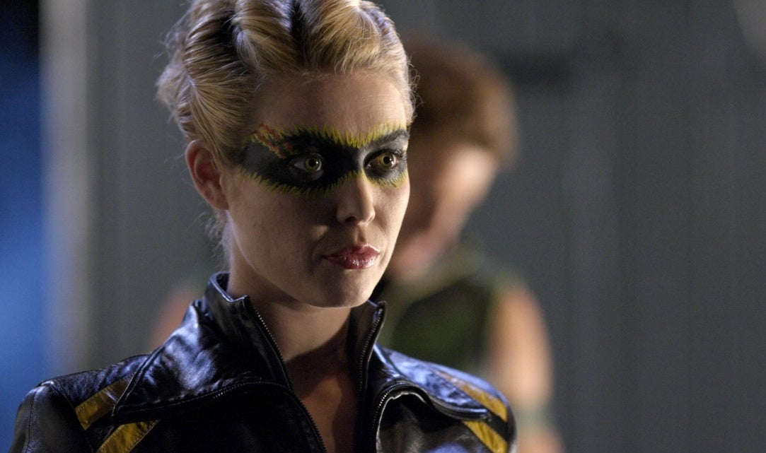 black canary smallville