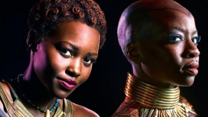 Black Panther Danai Gurira Lupita Nyong'o