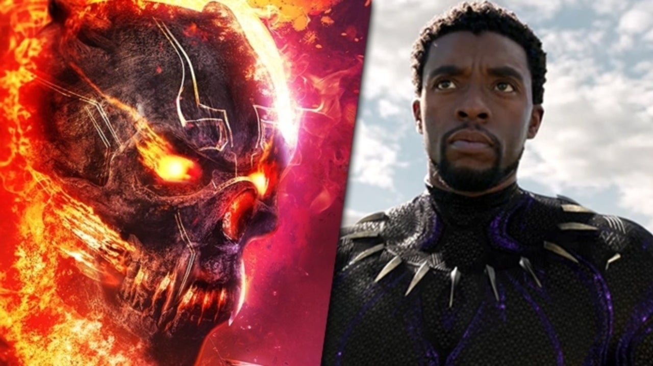 This Is What Black Panther Could Look Like as Ghost Rider in the MCU