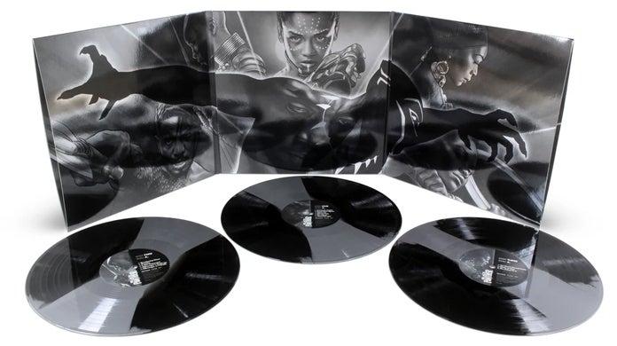 black panther score vinyl