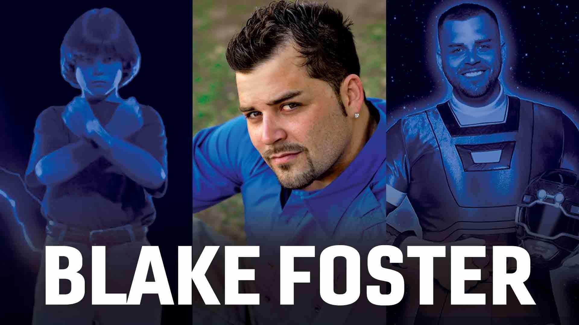 Blake Foster Talks Power Rangers - Exclusive Interview screen capture