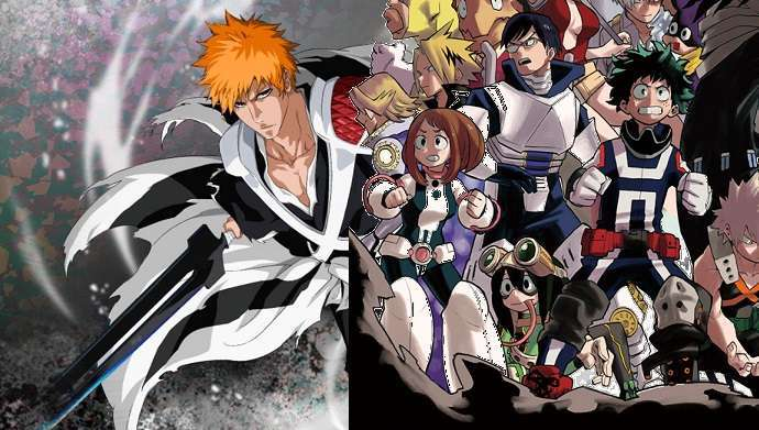 Bleach MHA