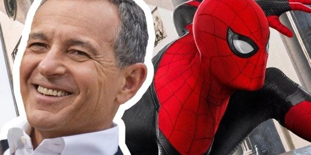 Disney Boss Bob Iger Says Tom Holland Owes Him a Beer for Saving Spider-Man
