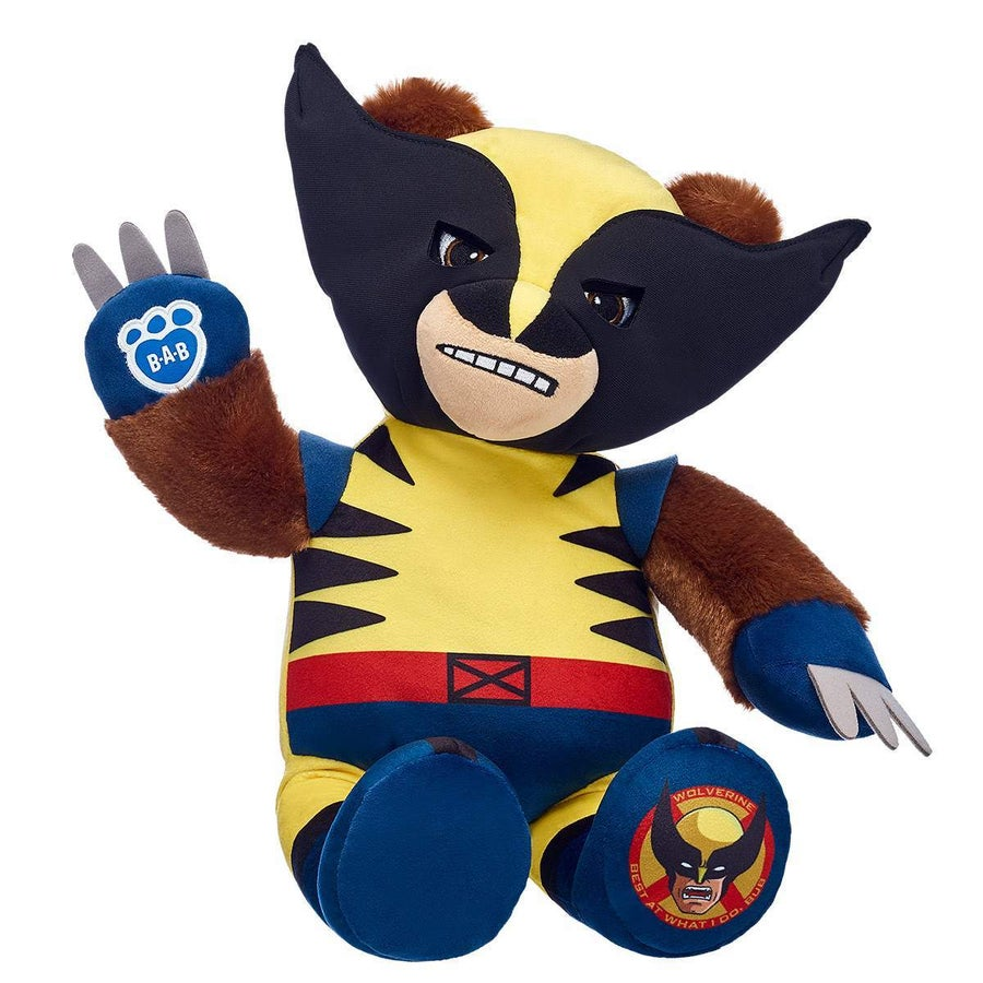 Build-a-Bear Wolverine