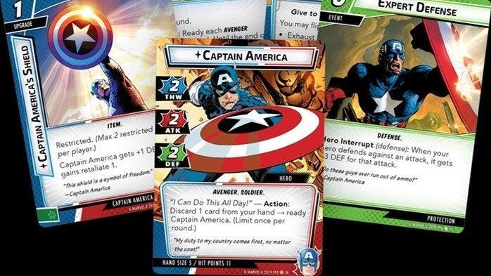 cap marvel champions header