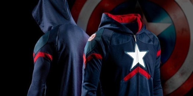 Captain America Hoodie: I Could Wear This All Day