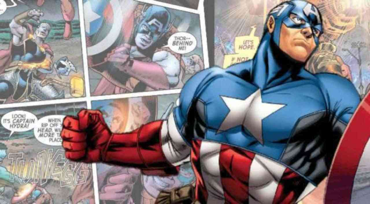Marvel Gives Captain America's Suit An Upgrade