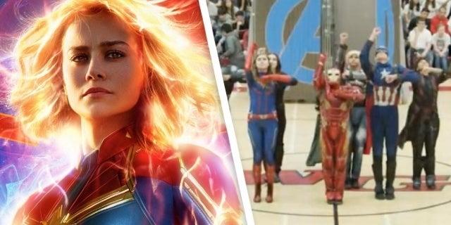 Captain Marvel Star Brie Larson Returns to Twitter to Share Marvel Homecoming Dance