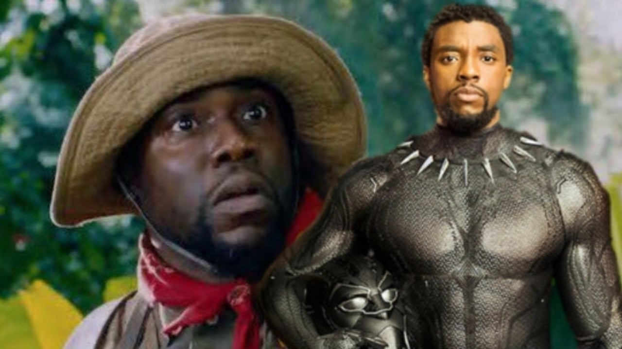 Black Panther Star Chadwick Boseman Sends Well Wishes to Kevin Hart After Accident