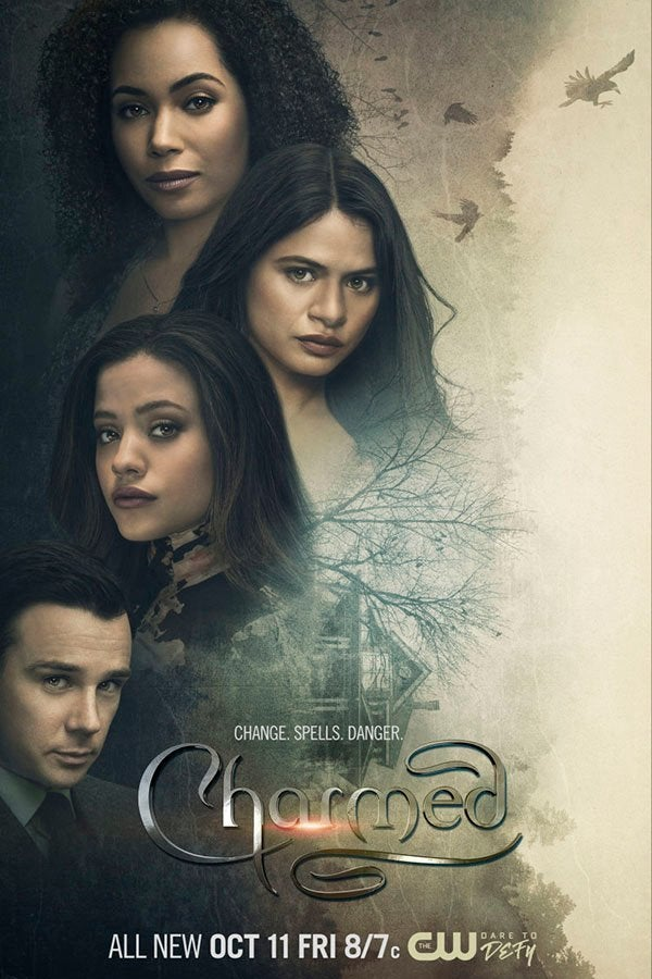 charmed season 2 poster the cw