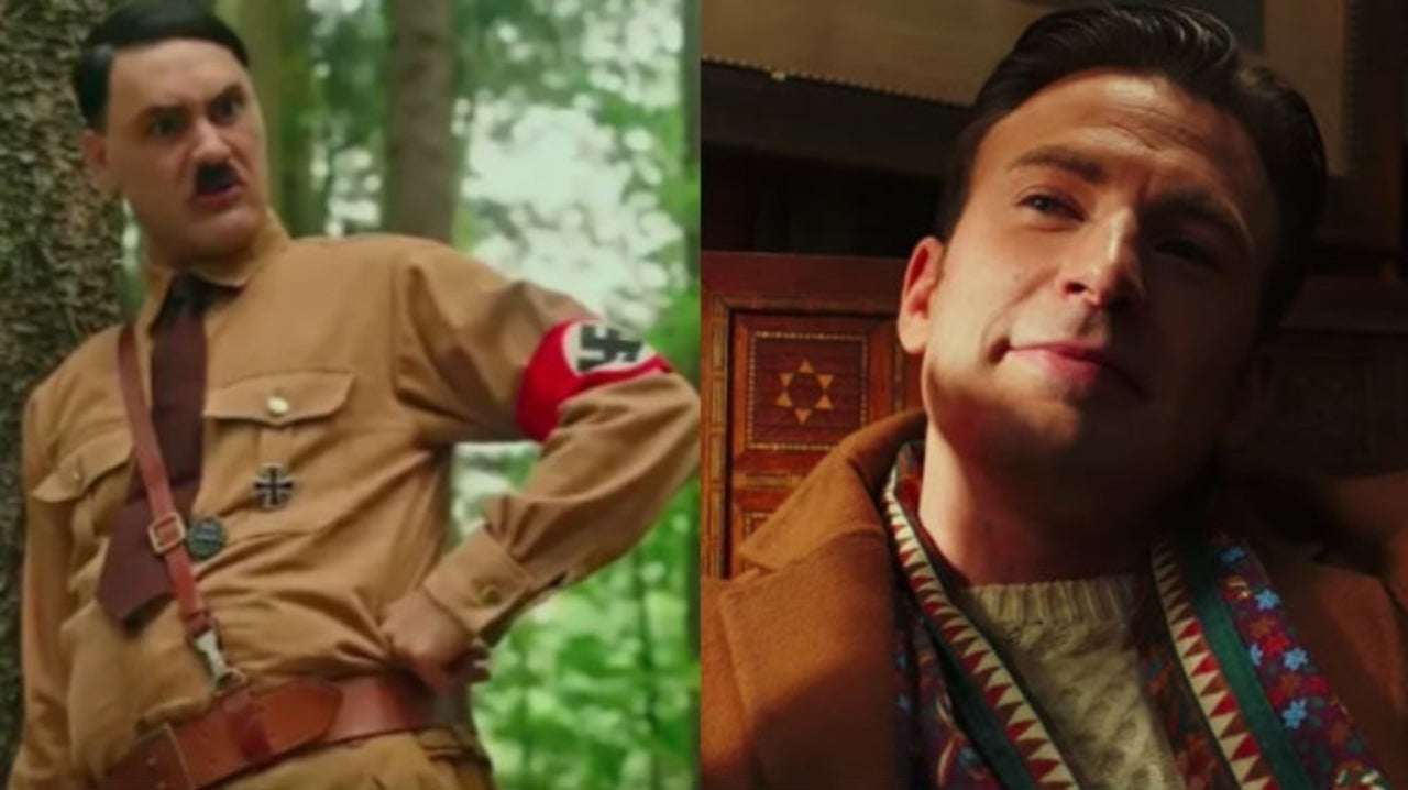 Taika Waititi Destroyed a Knives Out Photoshoot in Order to Hug Chris Evans