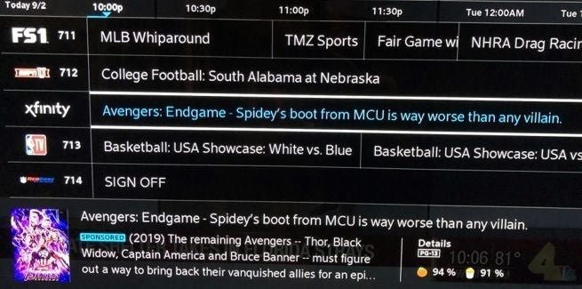 Comcast Continues Throwing Shade at Spider-Man Deal With New