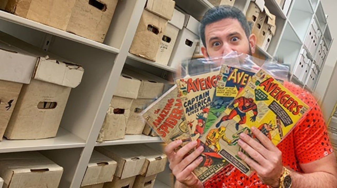 A Look Inside The World's Largest Comic Collection