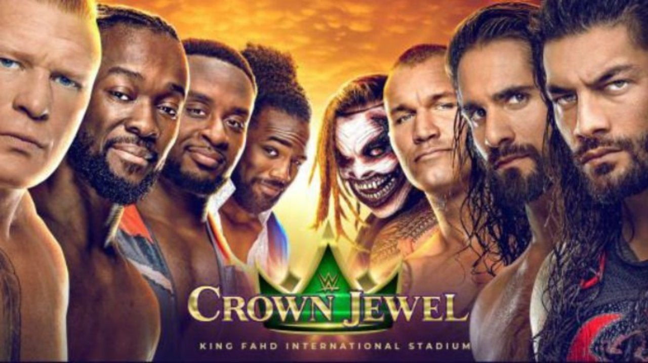 Image result for wwe crown jewel 2019